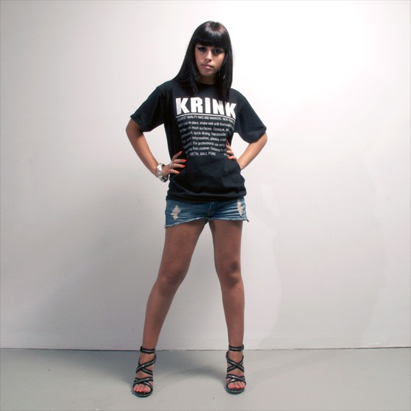 The infamous K-66 steel tip permanent marker tshirt, available in Black and Navy.